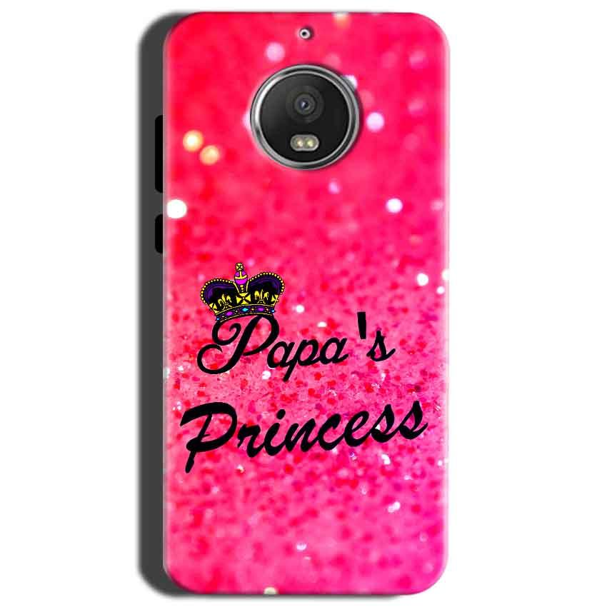 Motorola Moto G5S Mobile Covers Cases PAPA PRINCESS - Lowest Price - Paybydaddy.com