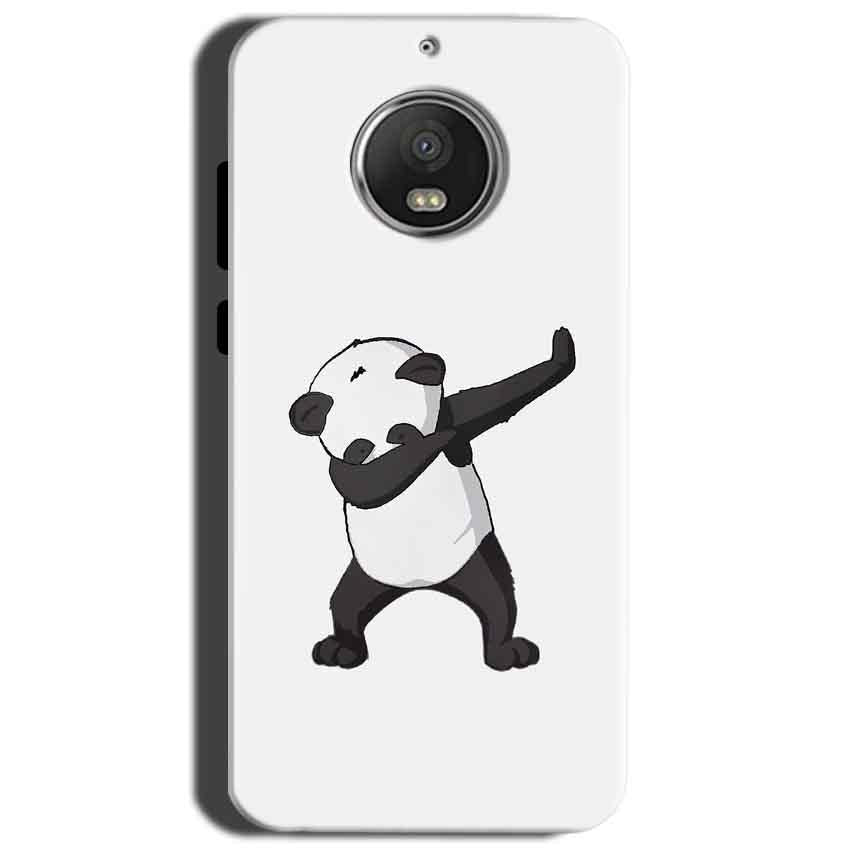 Motorola Moto G5S Mobile Covers Cases Panda Dab - Lowest Price - Paybydaddy.com