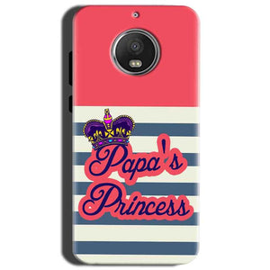 Motorola Moto G5S Mobile Covers Cases Papas Princess - Lowest Price - Paybydaddy.com