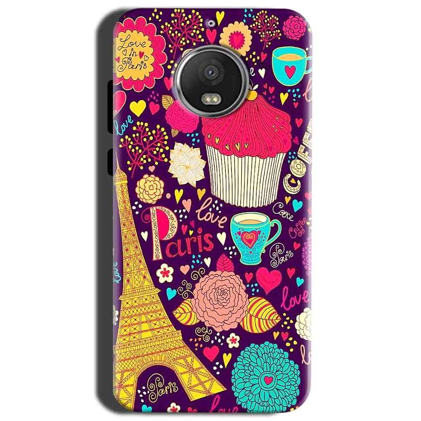 Motorola Moto G5S Mobile Covers Cases Paris Sweet love - Lowest Price - Paybydaddy.com