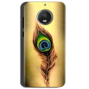 Motorola Moto G5S Mobile Covers Cases Peacock coloured art - Lowest Price - Paybydaddy.com