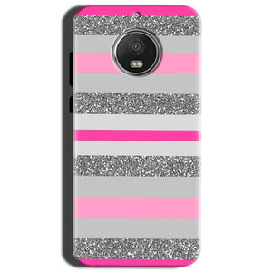 Motorola Moto G5S Mobile Covers Cases Pink colour pattern - Lowest Price - Paybydaddy.com