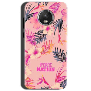 Motorola Moto G5S Mobile Covers Cases Pink nation - Lowest Price - Paybydaddy.com