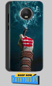 Motorola Moto G5S Mobile Covers Cases Shiva Hand With Clilam - Lowest Price - Paybydaddy.com