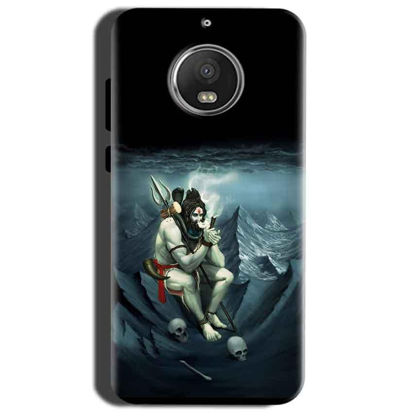 Motorola Moto G5S Mobile Covers Cases Shiva Smoking - Lowest Price - Paybydaddy.com