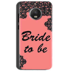 Motorola Moto G5S Mobile Covers Cases Mobile Covers Cases bride to be with ring Black Pink - Lowest Price - Paybydaddy.com