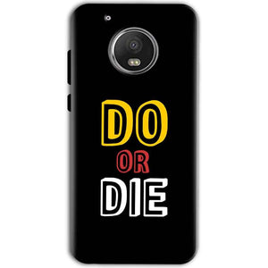 Motorola Moto G5 Mobile Covers Cases DO OR DIE - Lowest Price - Paybydaddy.com