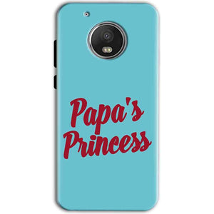 Motorola Moto G5 Mobile Covers Cases Papas Princess - Lowest Price - Paybydaddy.com