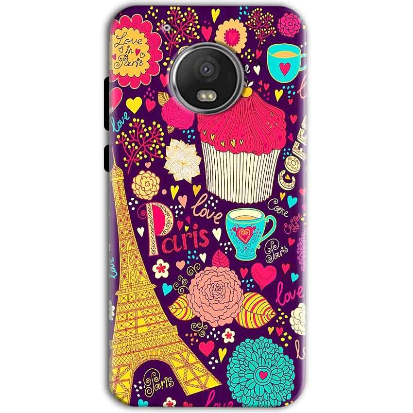 Motorola Moto G5 Mobile Covers Cases Paris Sweet love - Lowest Price - Paybydaddy.com