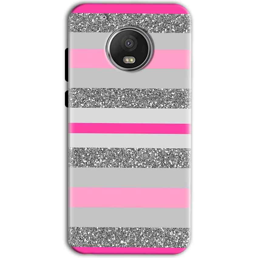 Motorola Moto G5 Mobile Covers Cases Pink colour pattern - Lowest Price - Paybydaddy.com