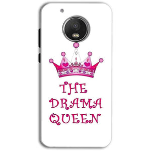 Motorola Moto G5 Plus Mobile Covers Cases Drama Queen - Lowest Price - Paybydaddy.com