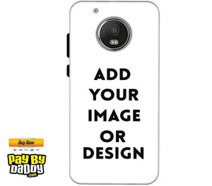 Customized Motorola Moto G5 Plus Mobile Phone Covers & Back Covers with your Text & Photo