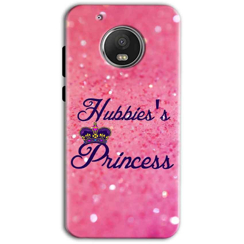 Motorola Moto G5 Plus Mobile Covers Cases Hubbies Princess - Lowest Price - Paybydaddy.com
