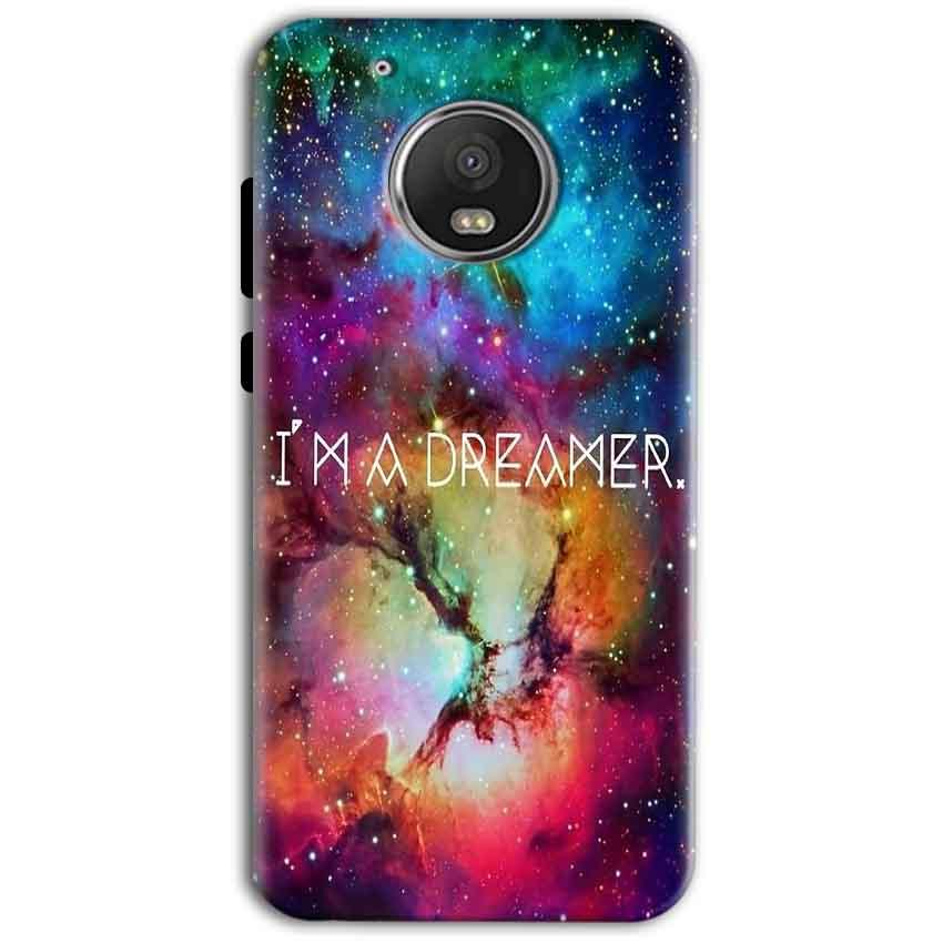 Motorola Moto G5 Plus Mobile Covers Cases I am Dreamer - Lowest Price - Paybydaddy.com