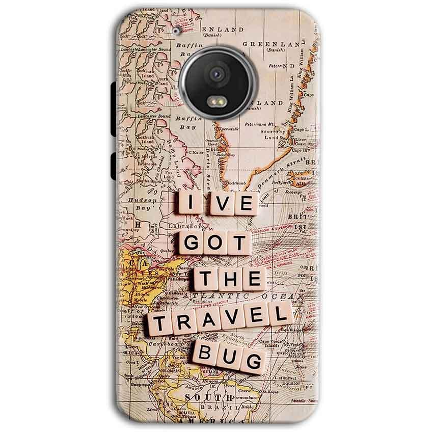 Motorola Moto G5 Plus Mobile Covers Cases Live Travel Bug - Lowest Price - Paybydaddy.com