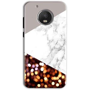 Motorola Moto G5 Plus Mobile Covers Cases MARBEL GLITTER - Lowest Price - Paybydaddy.com