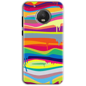 Motorola Moto G5 Plus Mobile Covers Cases Melted colours - Lowest Price - Paybydaddy.com