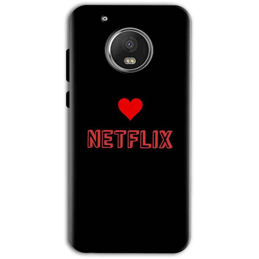 Motorola Moto G5 Plus Mobile Covers Cases NETFLIX WITH HEART - Lowest Price - Paybydaddy.com