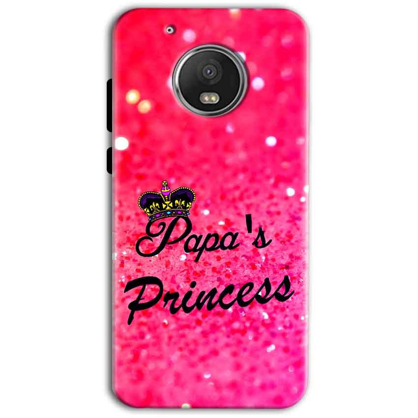 Motorola Moto G5 Plus Mobile Covers Cases PAPA PRINCESS - Lowest Price - Paybydaddy.com