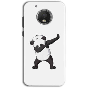 Motorola Moto G5 Plus Mobile Covers Cases Panda Dab - Lowest Price - Paybydaddy.com