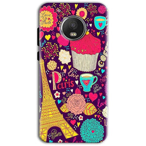 Motorola Moto G5 Plus Mobile Covers Cases Paris Sweet love - Lowest Price - Paybydaddy.com