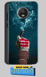 Motorola Moto G5 Plus Mobile Covers Cases Shiva Hand With Clilam - Lowest Price - Paybydaddy.com