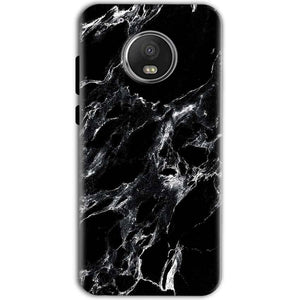 Motorola Moto G5 Mobile Covers Cases Pure Black Marble Texture - Lowest Price - Paybydaddy.com