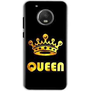 Motorola Moto G5 Mobile Covers Cases Queen With Crown in gold - Lowest Price - Paybydaddy.com