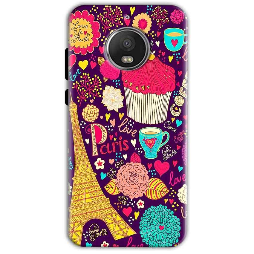 Motorola Moto G5 S Plus Mobile Covers Cases Paris Sweet love - Lowest Price - Paybydaddy.com