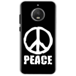 Motorola Moto G5 S Plus Mobile Covers Cases Peace Sign In White - Lowest Price - Paybydaddy.com