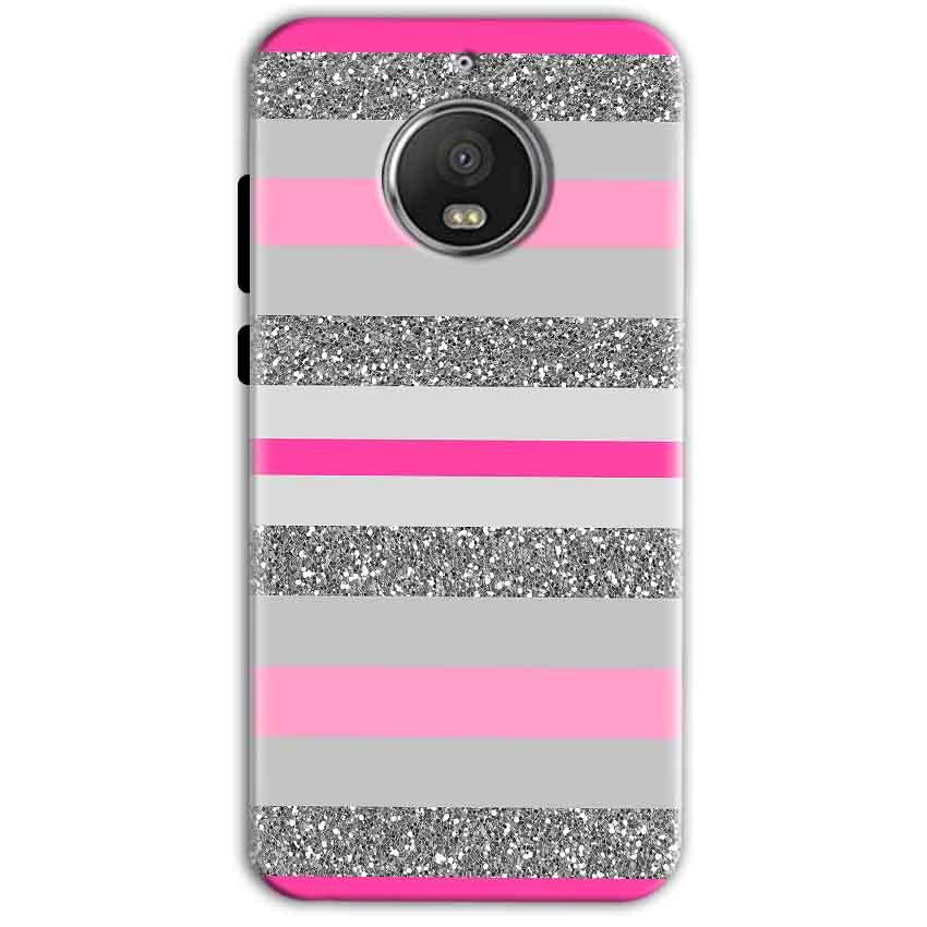 Motorola Moto G5 S Plus Mobile Covers Cases Pink colour pattern - Lowest Price - Paybydaddy.com