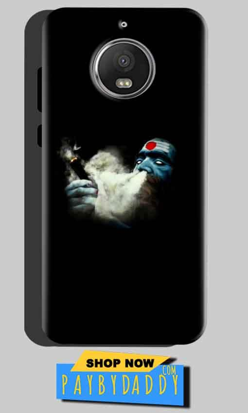 Motorola Moto G5 S Plus Mobile Covers Cases Shiva Aghori Smoking - Lowest Price - Paybydaddy.com