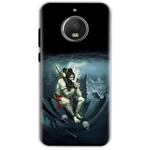 Motorola Moto G5 S Plus Mobile Covers Cases Shiva Smoking - Lowest Price - Paybydaddy.com