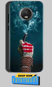 Motorola Moto G5 Mobile Covers Cases Shiva Hand With Clilam - Lowest Price - Paybydaddy.com