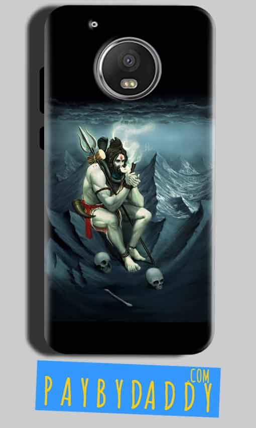 Motorola Moto G5 Mobile Covers Cases Shiva Smoking - Lowest Price - Paybydaddy.com
