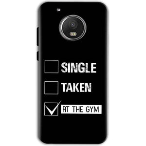 Motorola Moto G5 Mobile Covers Cases Single Taken At The Gym - Lowest Price - Paybydaddy.com