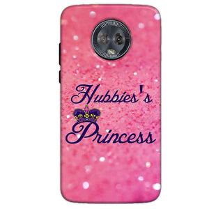 Motorola Moto G6 Mobile Covers Cases Hubbies Princess - Lowest Price - Paybydaddy.com