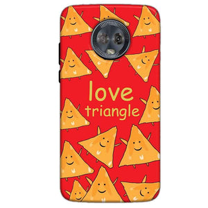 Motorola Moto G6 Mobile Covers Cases Love Triangle - Lowest Price - Paybydaddy.com