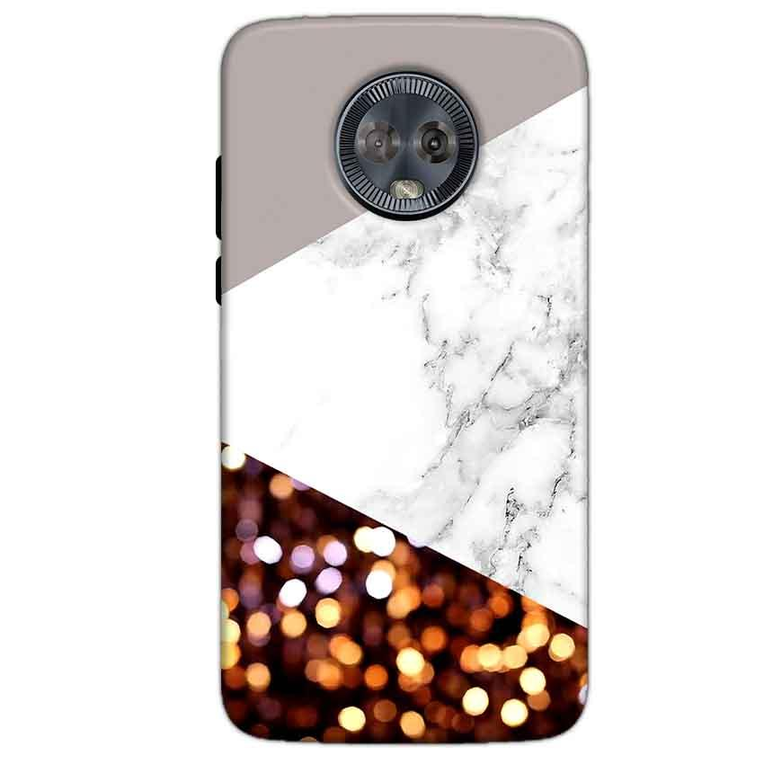 Motorola Moto G6 Mobile Covers Cases MARBEL GLITTER - Lowest Price - Paybydaddy.com