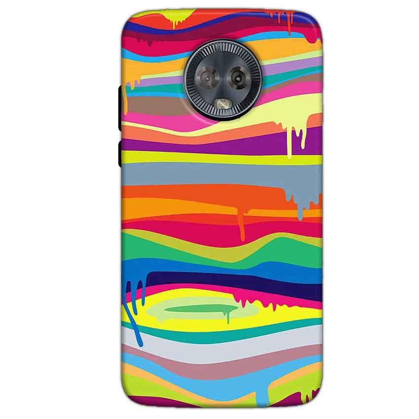 Motorola Moto G6 Mobile Covers Cases Melted colours - Lowest Price - Paybydaddy.com