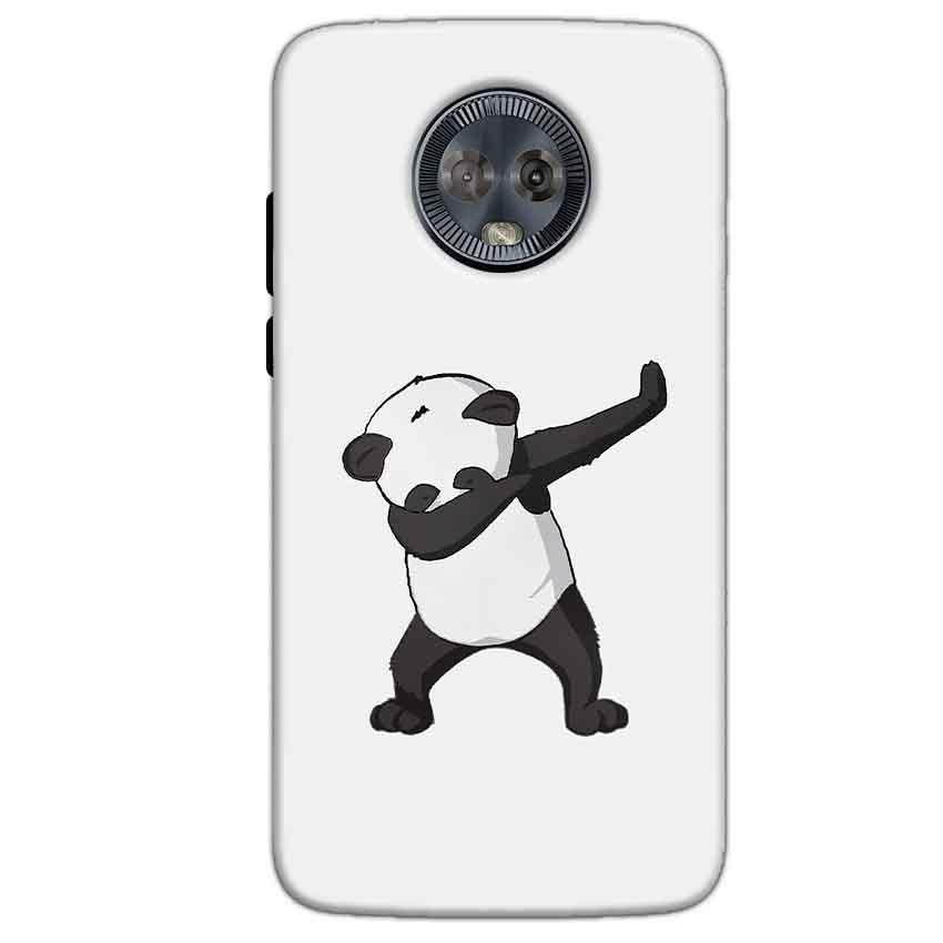 Motorola Moto G6 Mobile Covers Cases Panda Dab - Lowest Price - Paybydaddy.com