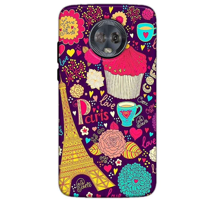 Motorola Moto G6 Mobile Covers Cases Paris Sweet love - Lowest Price - Paybydaddy.com
