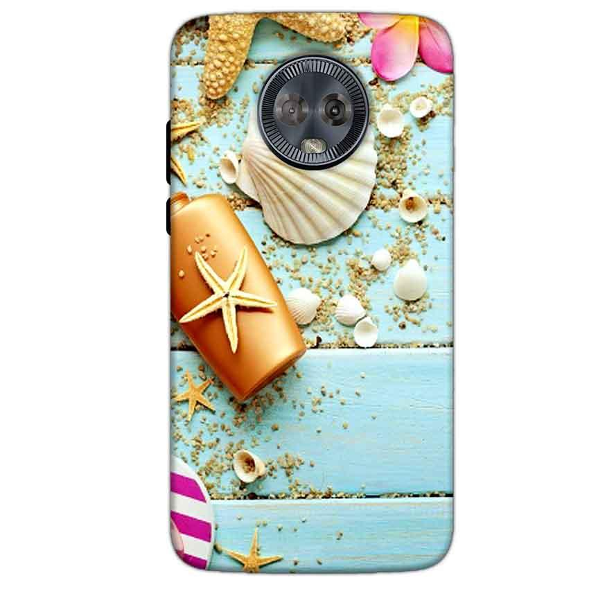 Motorola Moto G6 Mobile Covers Cases Pearl Star Fish - Lowest Price - Paybydaddy.com