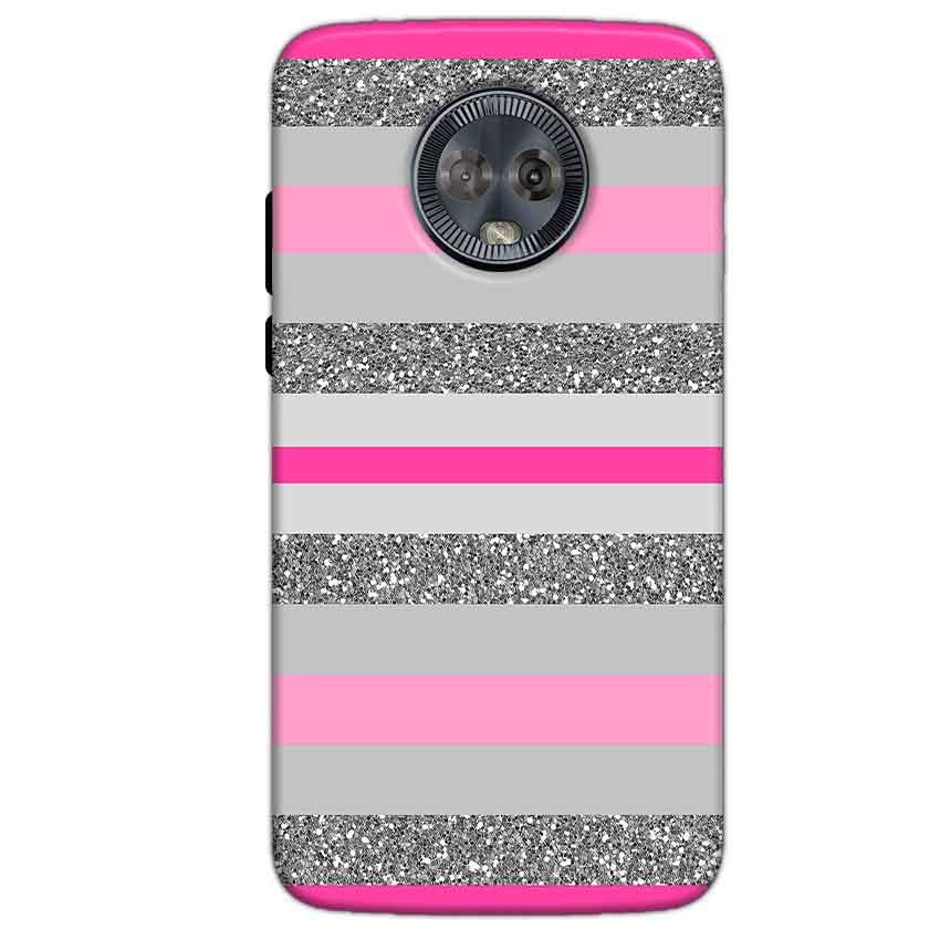 Motorola Moto G6 Mobile Covers Cases Pink colour pattern - Lowest Price - Paybydaddy.com