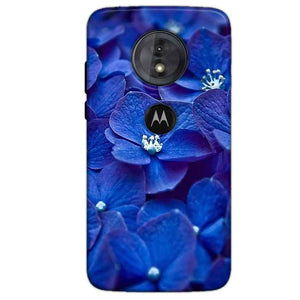 Motorola Moto G6 Play Mobile Covers Cases Blue flower - Lowest Price - Paybydaddy.com