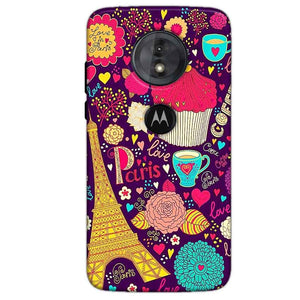 Motorola Moto G6 Play Mobile Covers Cases Paris Sweet love - Lowest Price - Paybydaddy.com