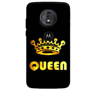Motorola Moto G6 Play Mobile Covers Cases Queen With Crown in gold - Lowest Price - Paybydaddy.com