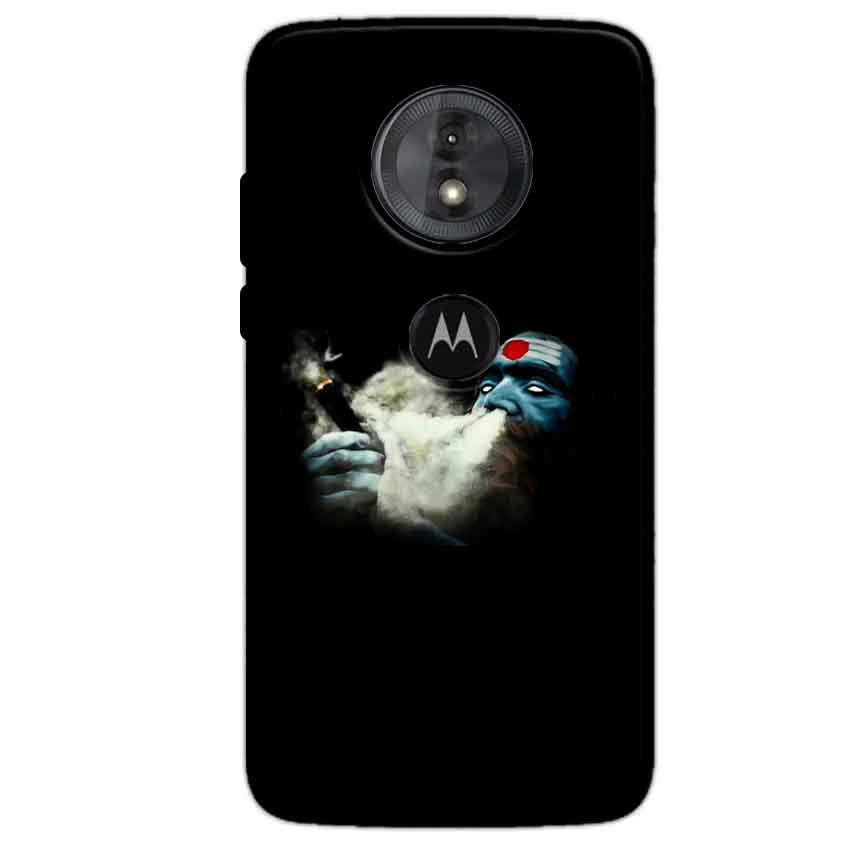 Motorola Moto G6 Play Mobile Covers Cases Shiva Aghori Smoking - Lowest Price - Paybydaddy.com