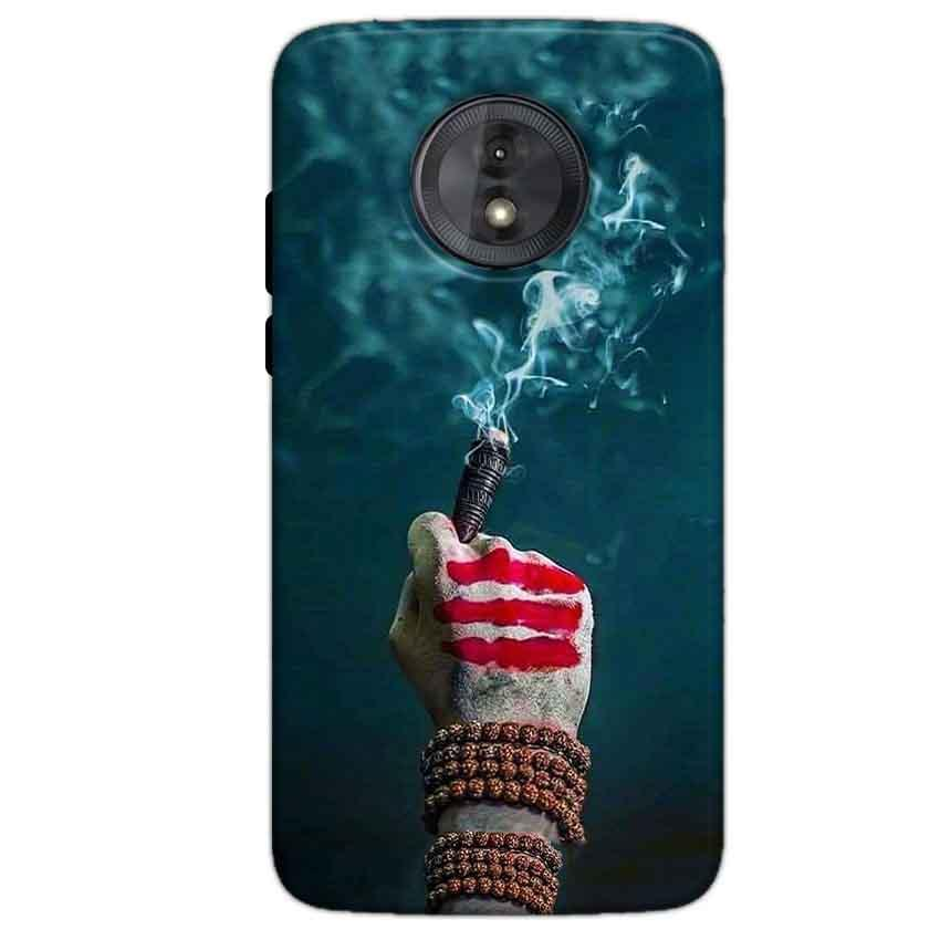 Motorola Moto G6 Play Without Cut Mobile Covers Cases Shiva Hand With Clilam - Lowest Price - Paybydaddy.com
