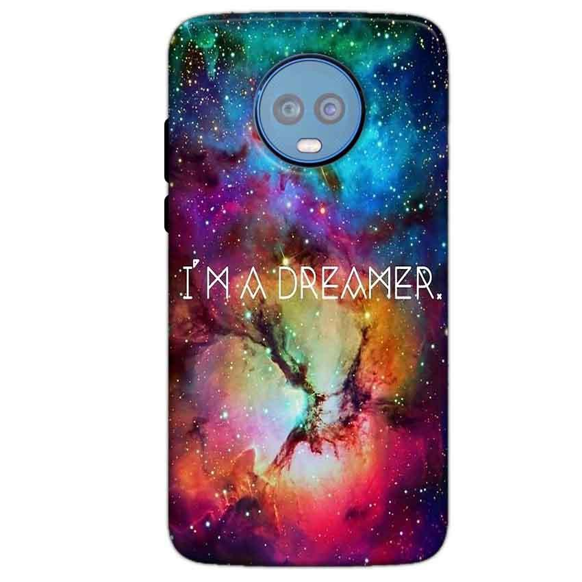 Motorola Moto G6 Plus Mobile Covers Cases I am Dreamer - Lowest Price - Paybydaddy.com